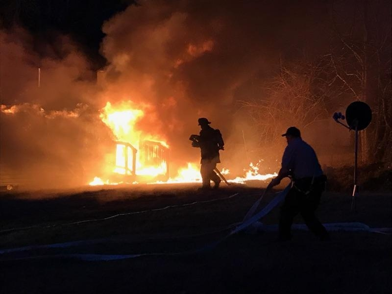 WVFD Runs house fire